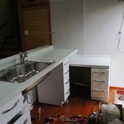 システムキッチン取り換え