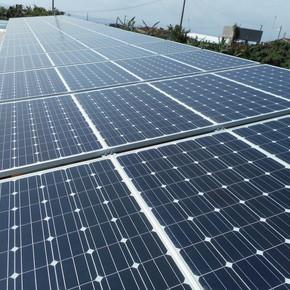 太陽光発電設置(牛舎)
