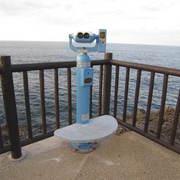 観光用望遠鏡設置