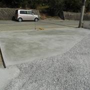駐車場工事(住宅)